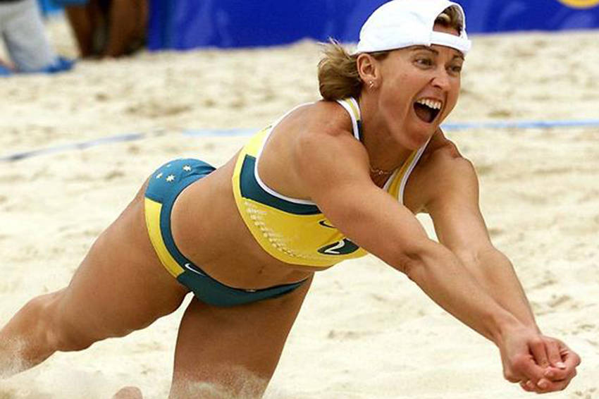Kerri Pottharst, Sydney 2000 Beach Volleyball Olympic Gold Medalist