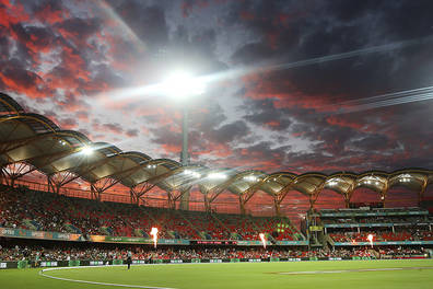 Melbourne stars the dugout experience at metricon stadium