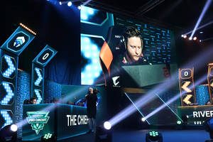 Chiefs Esports gaming drills with a pro player1