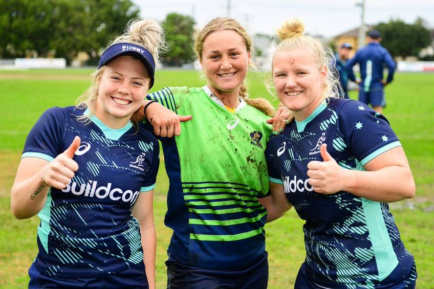 Wallaroos and NSW Waratahs Player Arabella McKenzie Rugby Training Experience0
