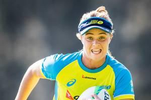 Wallaroos and NSW Waratahs Player Arabella McKenzie Rugby Training Experience2