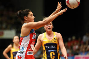 Sydney Giants Player Claire O'Brien Netball Training Experience1