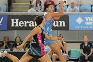 Sydney Giants Player Claire O'Brien Netball Training Experience2