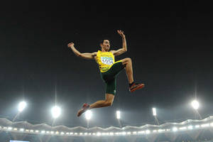 World Champion Fabrice Lapierre Long Jumping Experience0