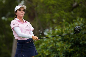 18 holes of golf with professional player becky kay1