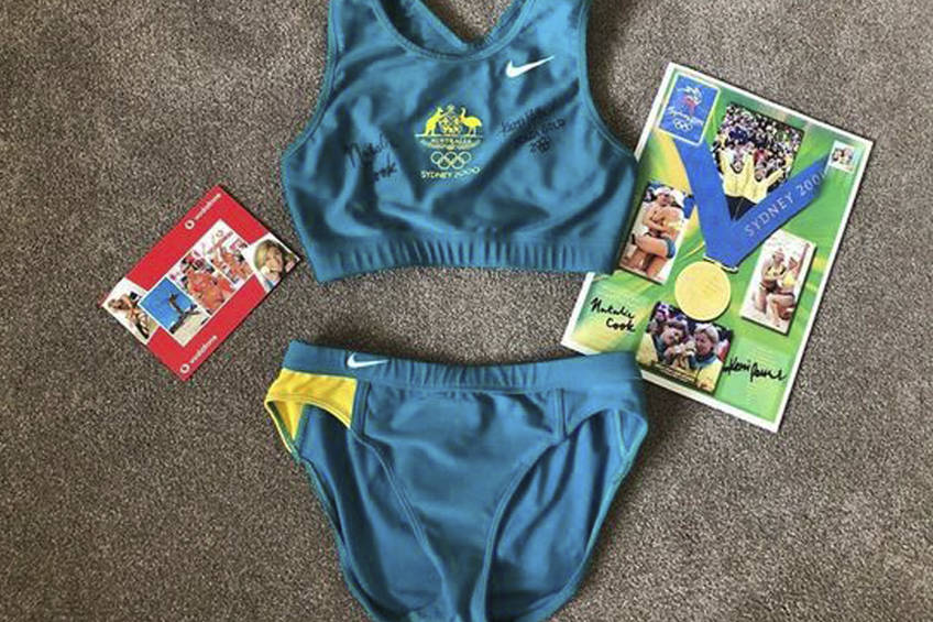 Autographed SYDNEY OLYMPIC GAMES UNIFORM to help with bushfire devastation0