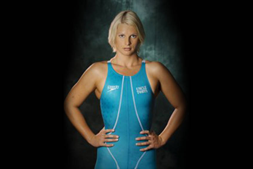 SWIM session with LEISEL JONES to help with the bushfire devastation0