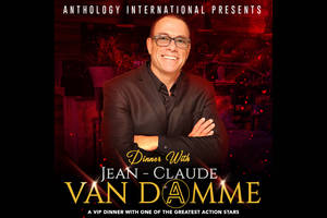 Dinner with Jean-Claude Van Damme0