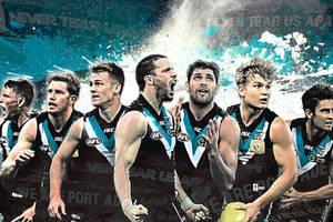 Aussie Rules Port Adelaide Locker Room Experience0