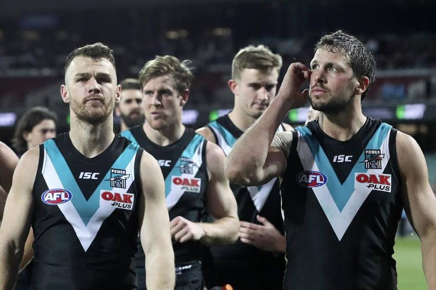 Aussie Rules Port Adelaide Locker Room Experience2