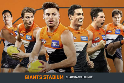 GWS Giants AFL Chairman's Lounge Experience
