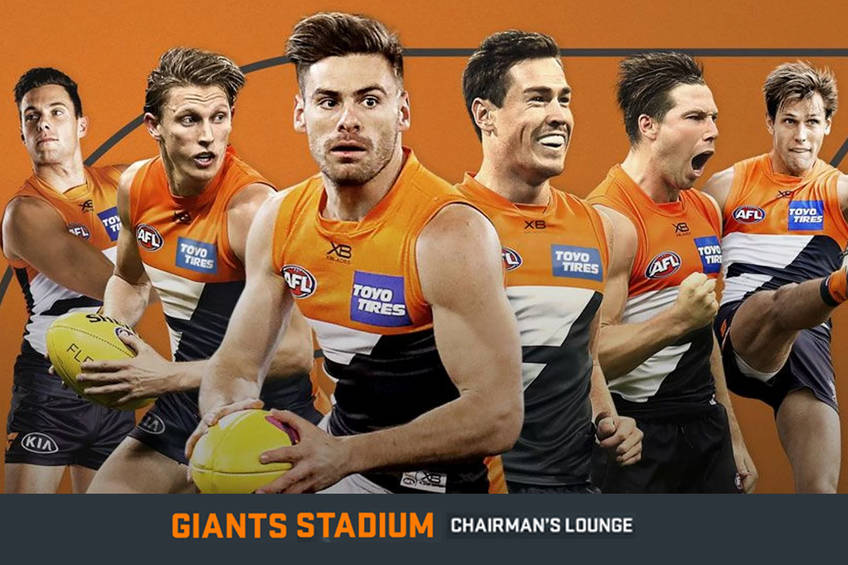GWS Giants AFL Chairman's Lounge Experience0