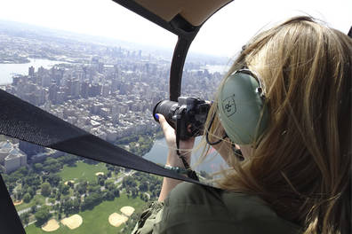 Private New York City Open-Door Helicopter Flight from Westchester