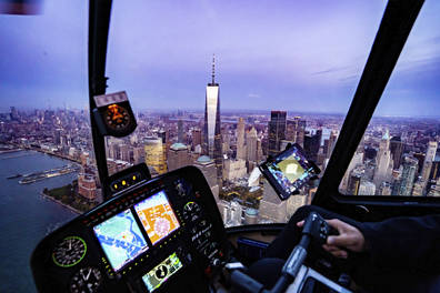 Private New York City Helicopter Tour from Westchester