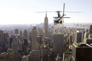 Private New York City Helicopter Sightseeing Experience with Champagne Toast0