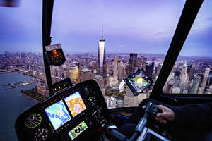 Couple's Private NYC Helicopter Sightseeing Experience with Champagne Toast1
