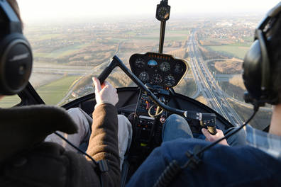 Private Helicopter Flight Lesson