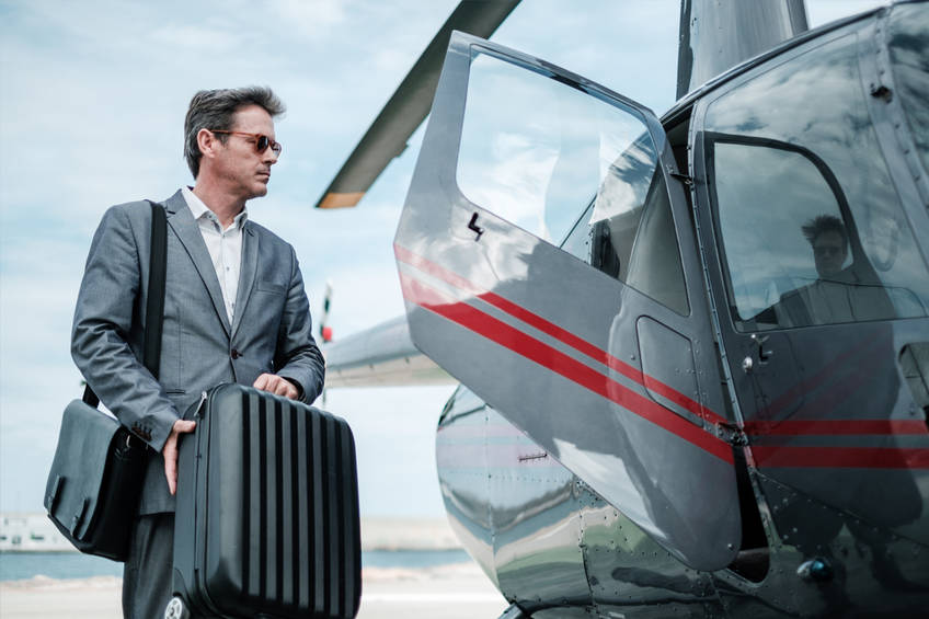 New York Helicopter Airport Transfer with Scenic Tour0