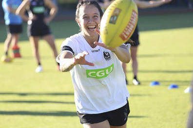 Birthday Visit from Aussie Rules Brittany Bonnici