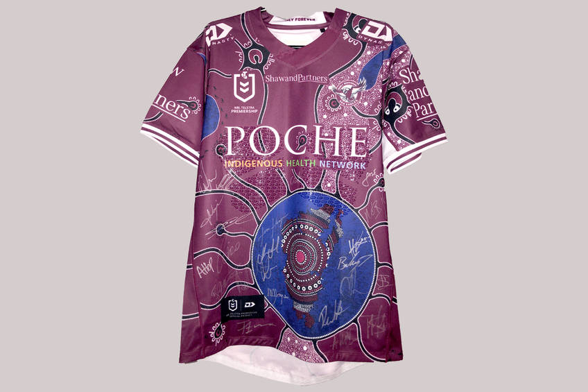 mainIndigenous Jersey 2020 Signed by Team0