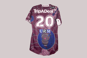 Indigenous Jersey 2020 Signed by Team1