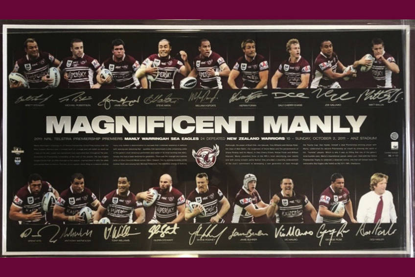 Magnificent Manly 2011 signed & framed print0