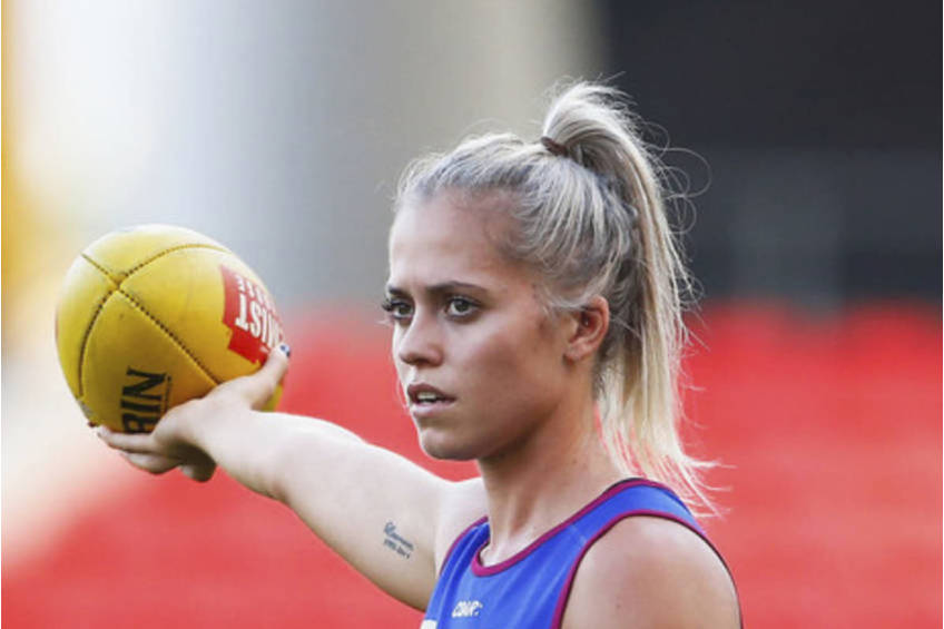 Zoom Session with Aussie Rules Kaitlyn Ashmore0