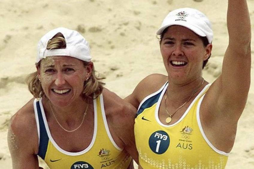 WIN the ultimate GOLD Beach Volleyball Experience with Sydney 2000 Gold Medalists1