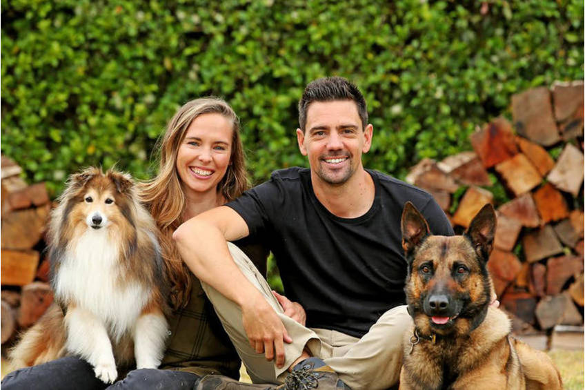 Animal Trainers Jen and Ryan Tate Experience0
