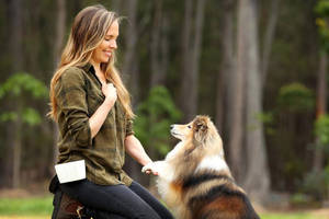 Animal Trainers Jen and Ryan Tate Experience1