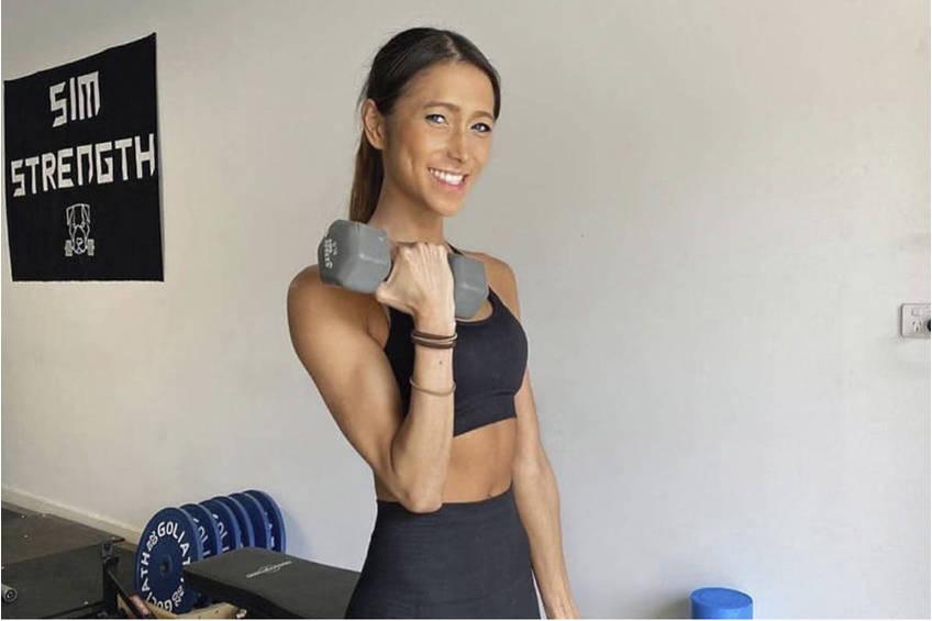Influencer Sarah Rav Training Experience0