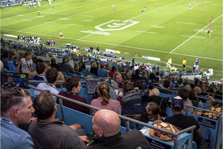 Gold Coast Titans Open Air Box Experience1