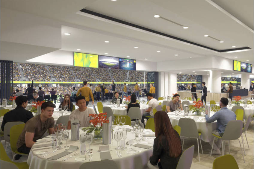 Wests Tigers WATERVIEW CHAIRMAN'S LOUNGE1