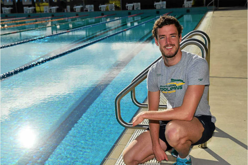 Paralympic Swimmer Champion Blake Cochrane Training Experience1