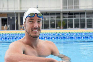 Paralympic Swimmer Champion Blake Cochrane Training Experience0