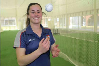 Ellie Falconer Cricket Training Experience