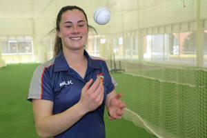Ellie Falconer Cricket Training Experience0