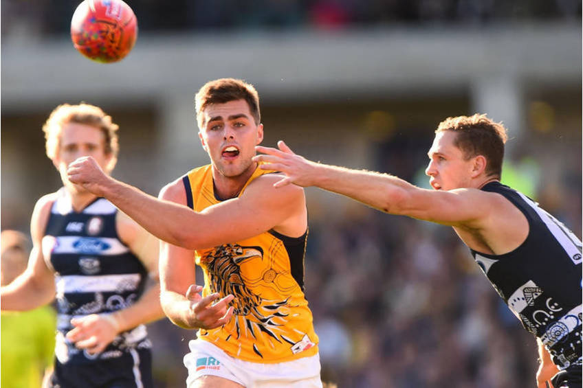 Aussie Rules Fraser McInnes EXPERIENCE0