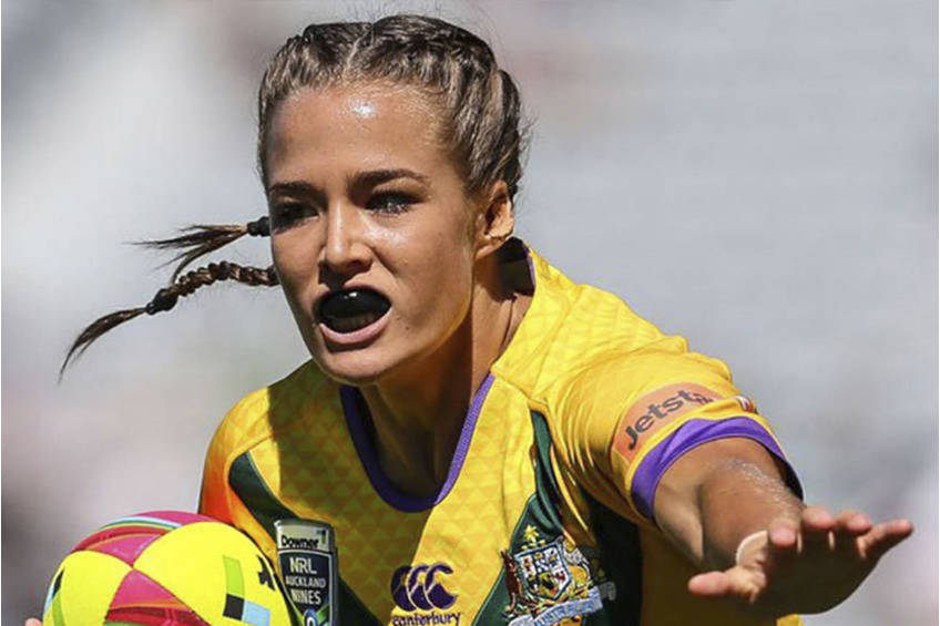 Rugby league Star Isabelle Kelly EXPERIENCE1