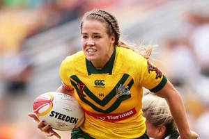 Rugby league Star Isabelle Kelly EXPERIENCE2