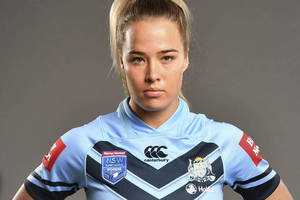 Rugby league Star Isabelle Kelly EXPERIENCE0