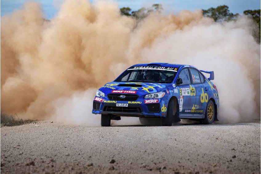 molly taylor rally experience0