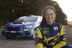Keynote with professional racing driver Molly Taylor0