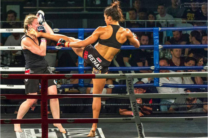 Genah Fabian MMA Experience2