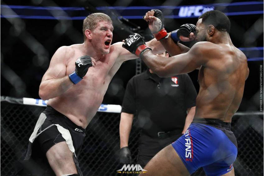 Dan Kelly UFC Training Experience1