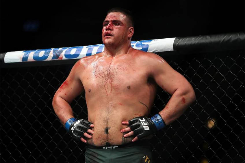 Tai Tuivasa UFC Training Experience2