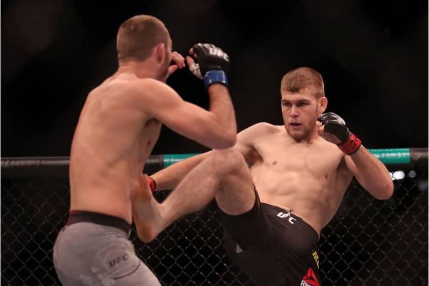 Jake Matthews UFC Experience2