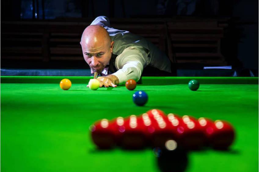 Robby Foldvari Billiards Clinic Experience0