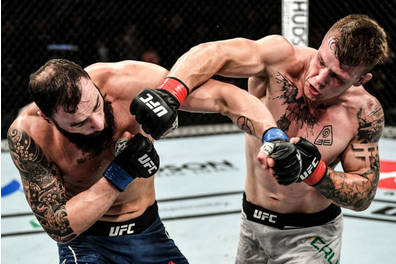 Jimmy Crute UFC Melbourne Experience