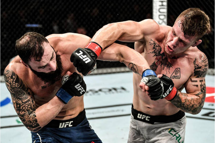 Jimmy Crute UFC Melbourne Experience0
